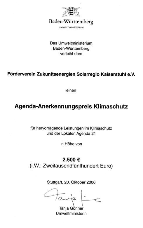 Agendapreis